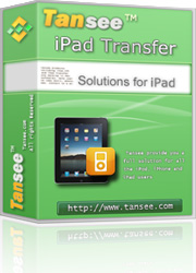 Tansee iPad Transfer Free Download