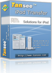 Tansee iPod Transfer Free Download