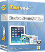 Tansee iOS Music&Video Transfer