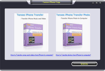 Tansee iPhone Copy pack - Copy iPhone Music Video and Photo