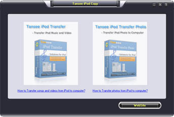 Tansee iPod Copy Pack - Copy all iPod Music Video and Photo